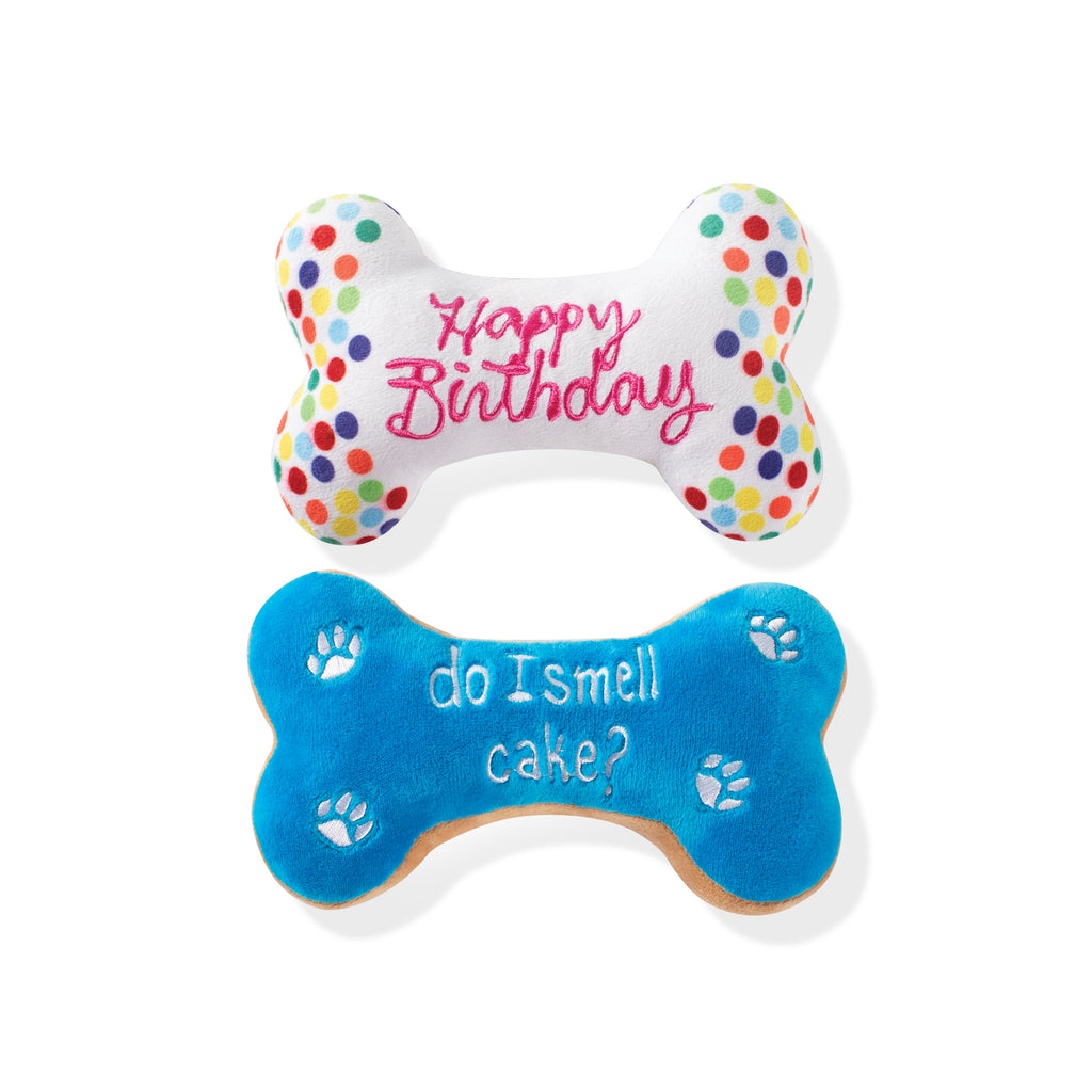 PETSHOP BIRTHDAY BONE COOKIES DOG TOYS