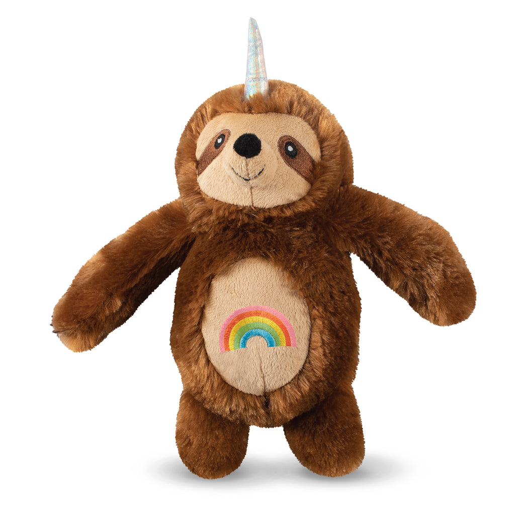 PETSHOP RAINBOW SLOTHICORN DOG TOY
