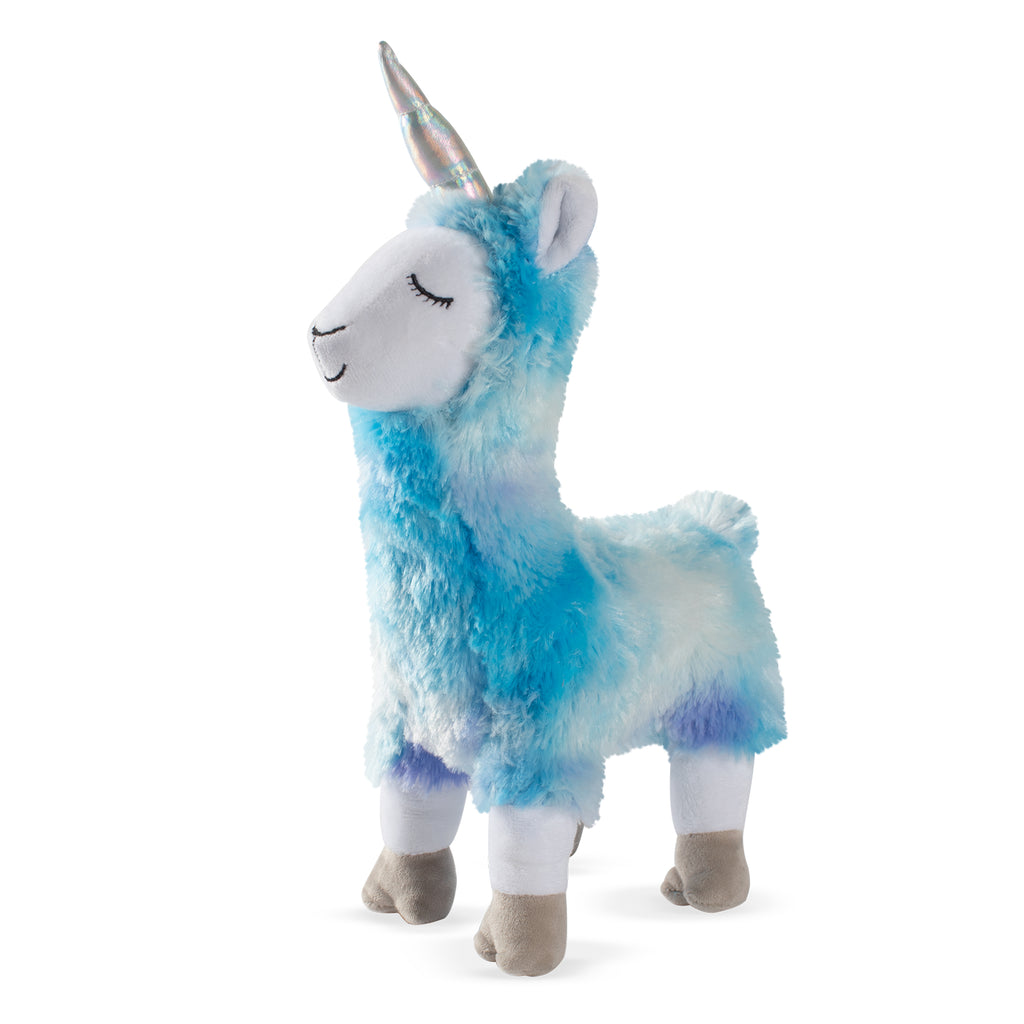 PETSHOP BLUE LLAMACORN DOG TOY