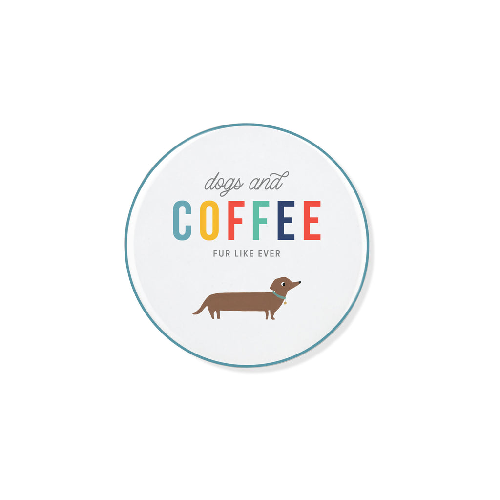 PETSHOP DOGS AND COFFEE COASTER