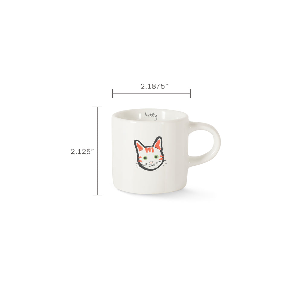 PETSHOP BFF KITTY MINI ESPRESSO MUG