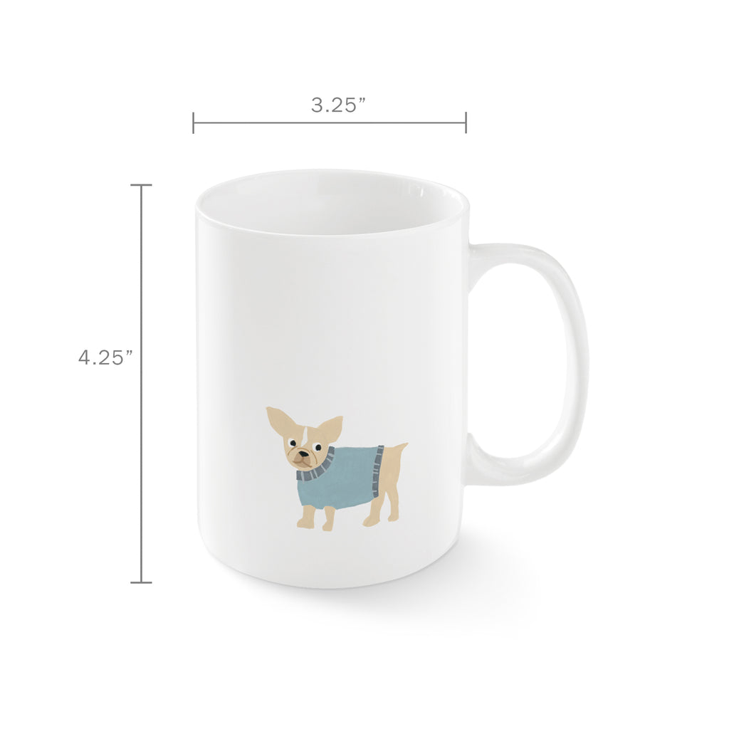 Pet Shop Happy Frenchie Mug