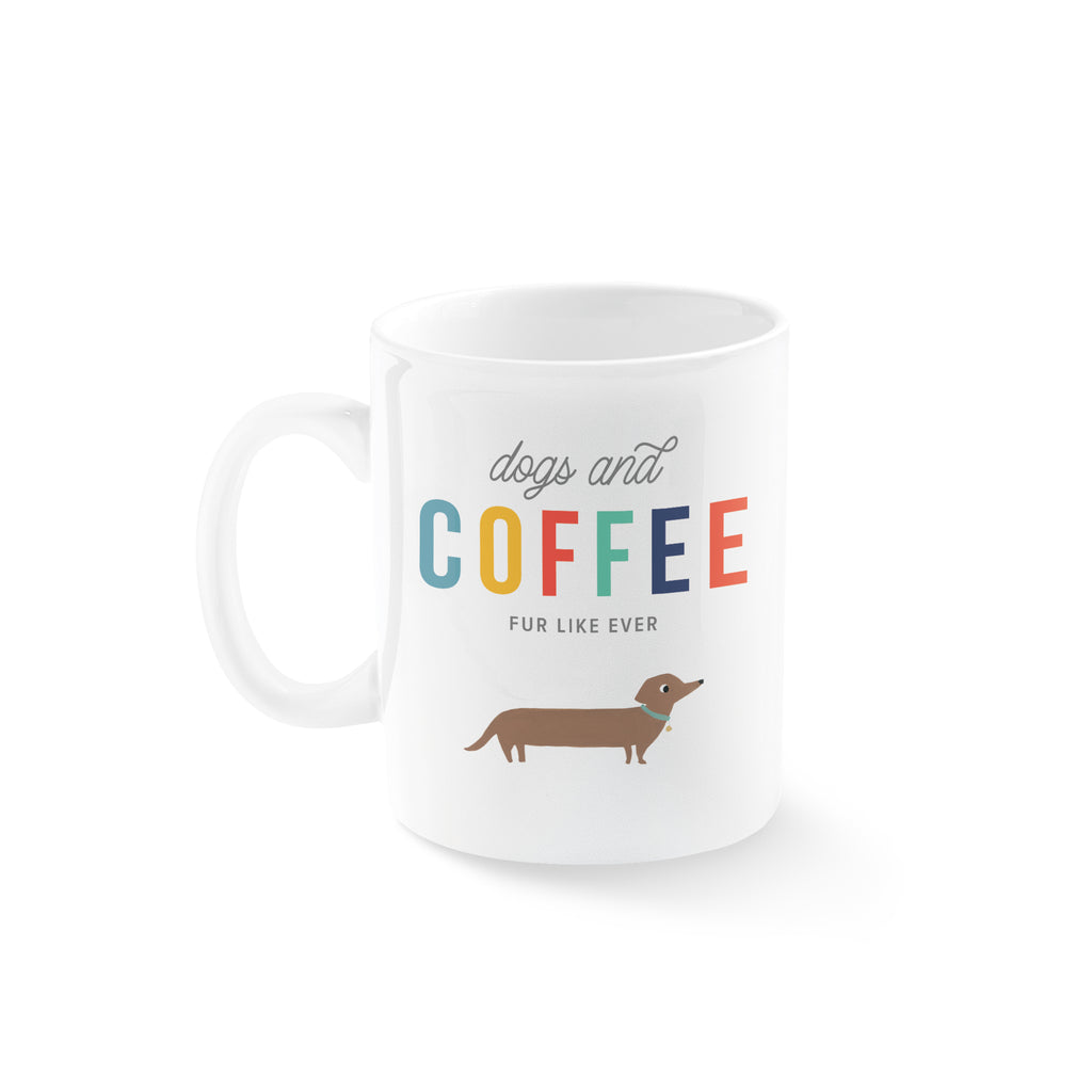 PETSHOP DOGS AND COFFEE MUG