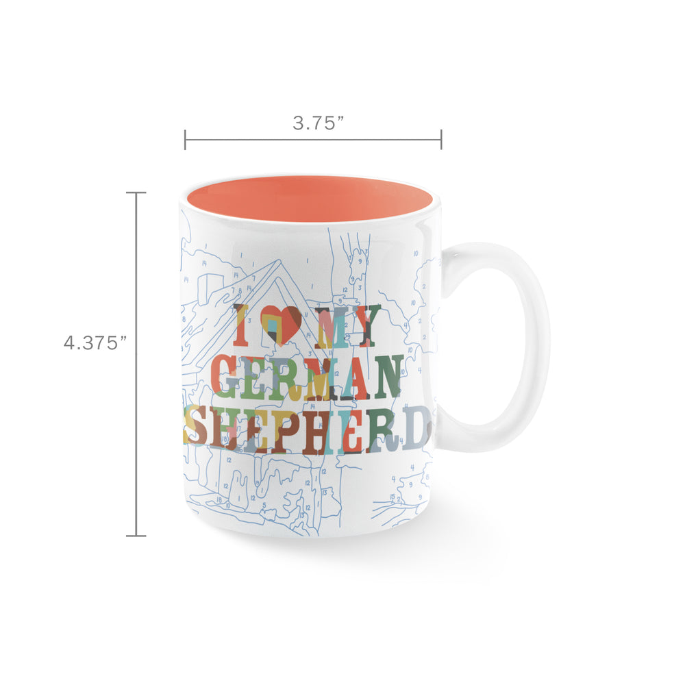 PETSHOP GERMAN SHEPHERD MUG