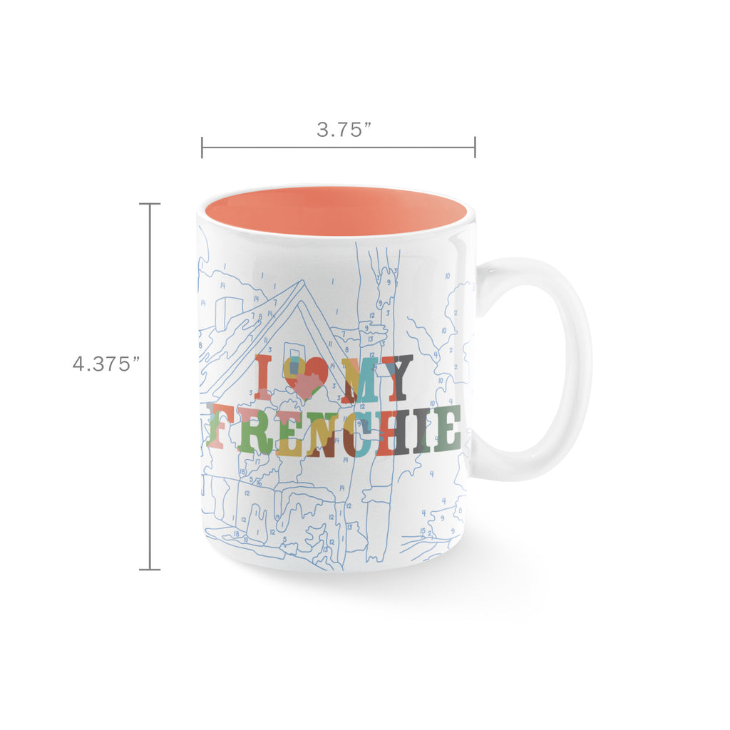 PETSHOP FRENCHIE MUG