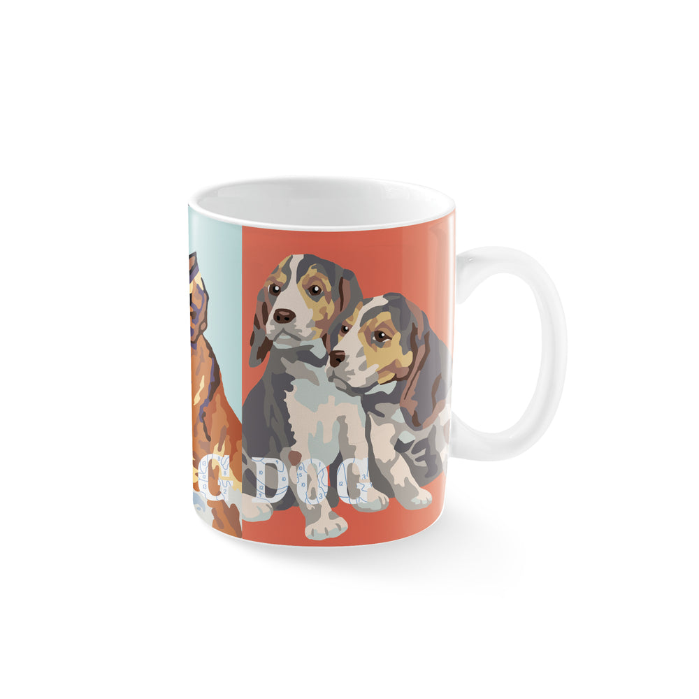 PETSHOP MORNING DOG MUG