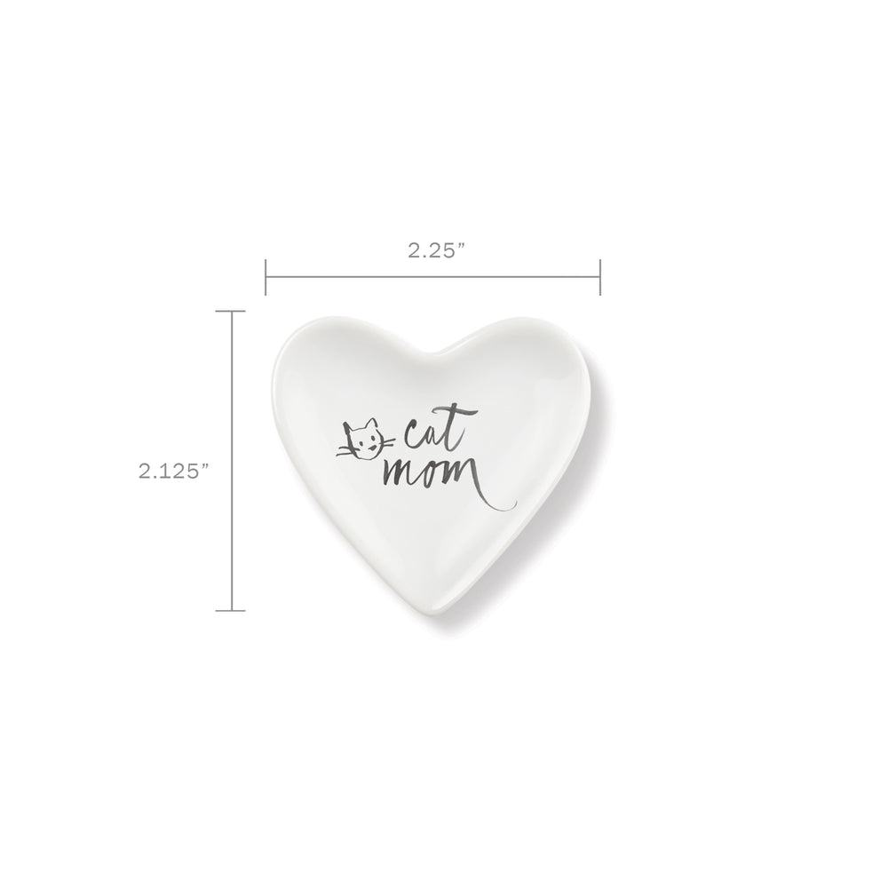 PETSHOP CAT MOM HEART TRAY