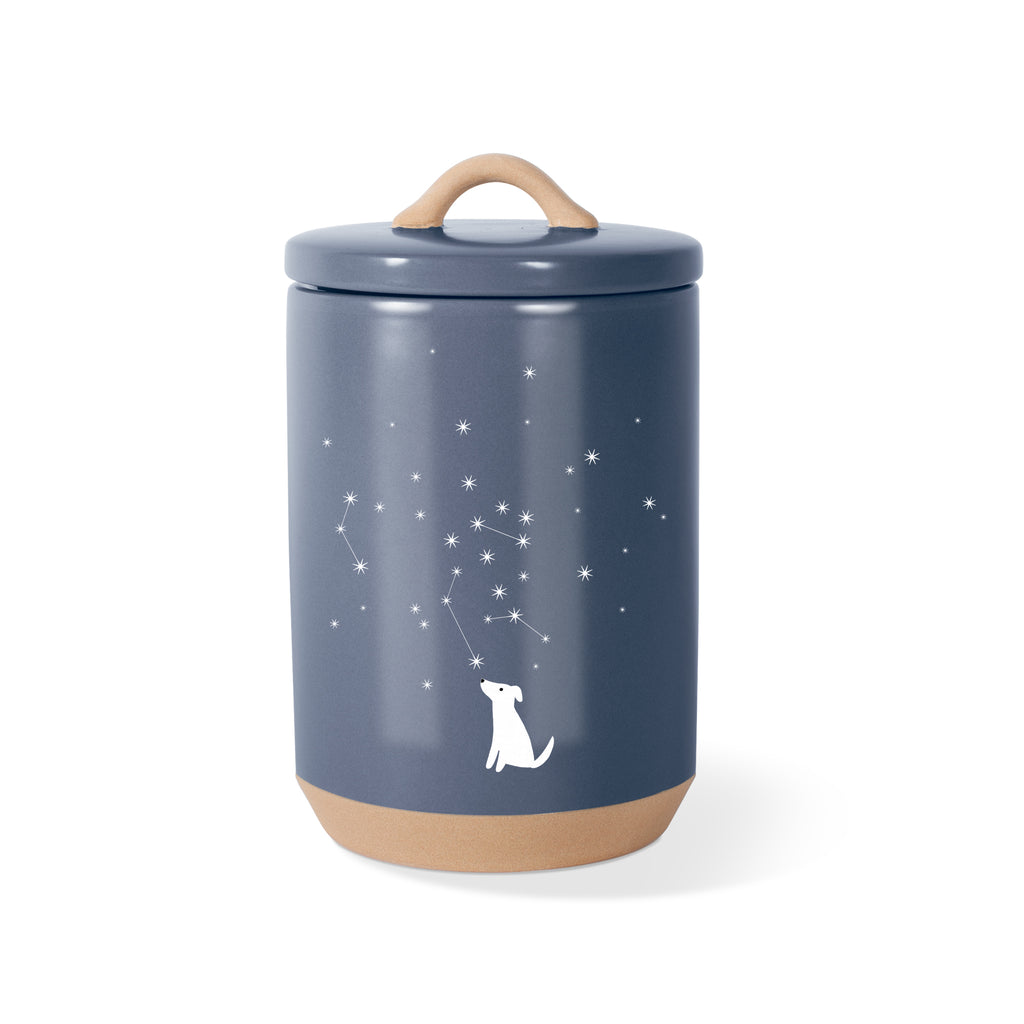 PETSHOP CELESTIAL DOG TREAT JAR