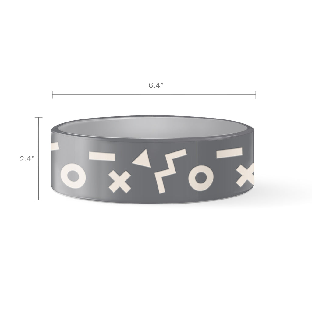 PETSHOP XO SHAPE PET BOWL