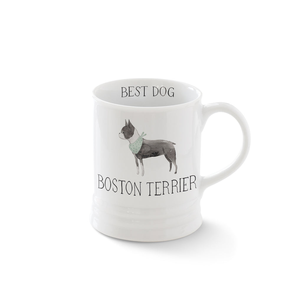 PETSHOP JULIANNA SWANEY BOSTON TERRIER MUG