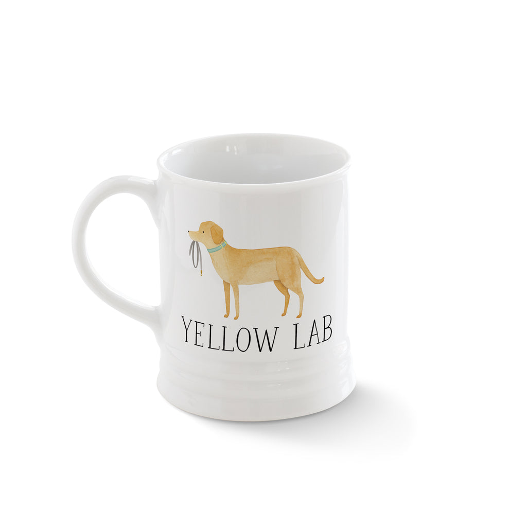 PETSHOP JULIANNA SWANEY YELLOW LAB MUG