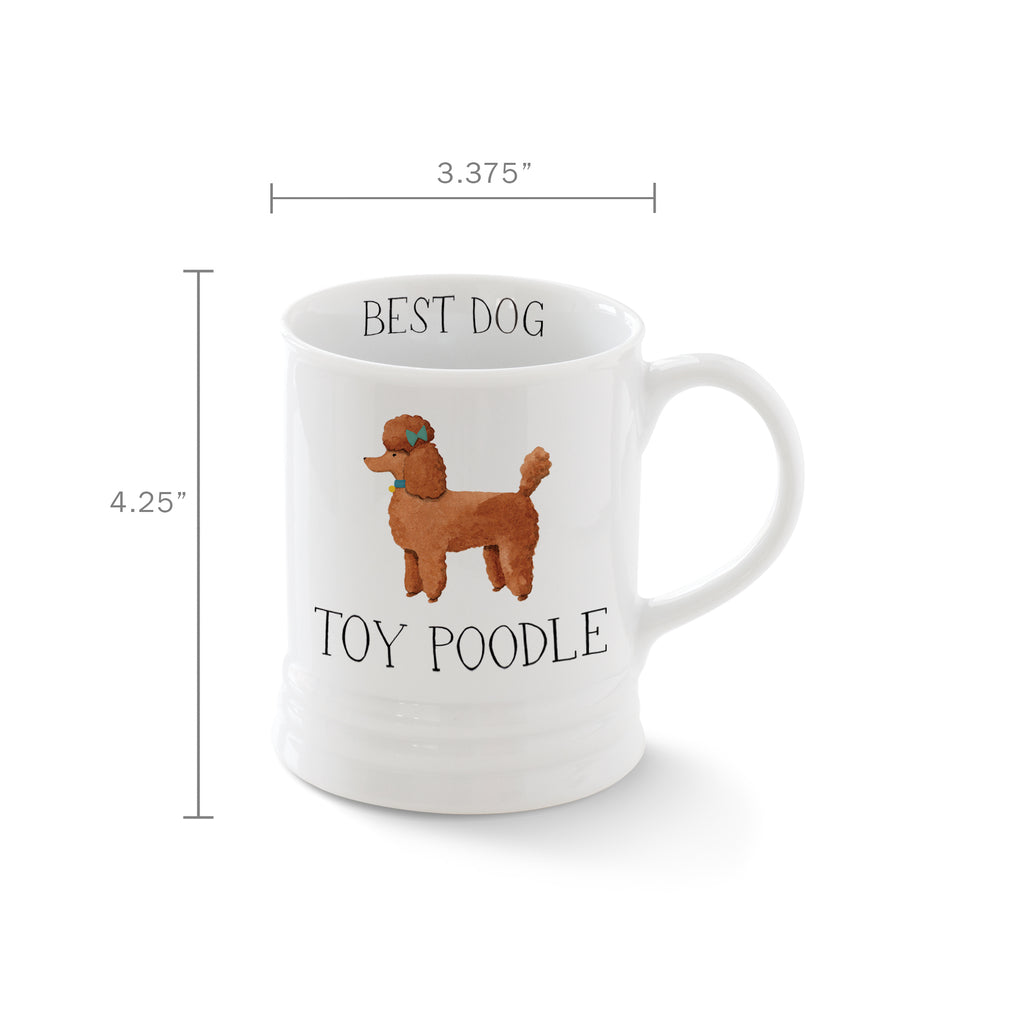 PETSHOP JULIANNA SWANEY POODLE MUG