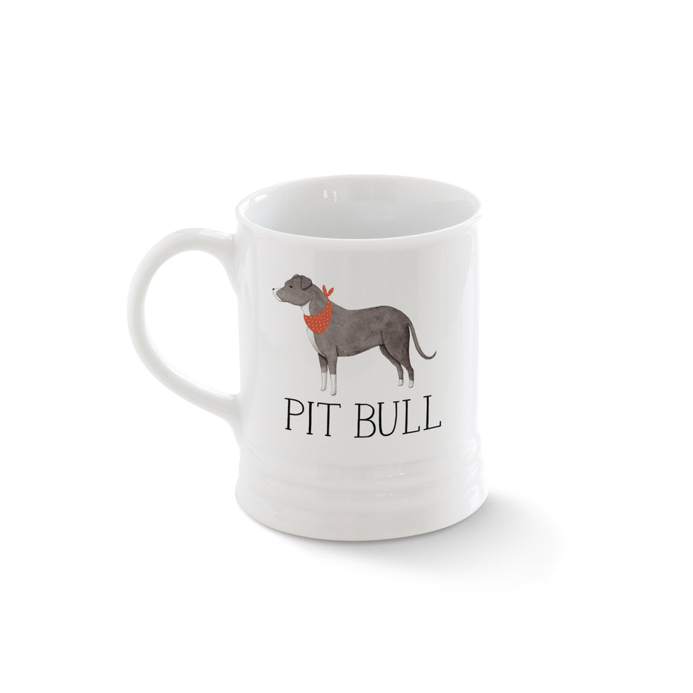 PETSHOP JULIANNA SWANEY PITBULL MUG