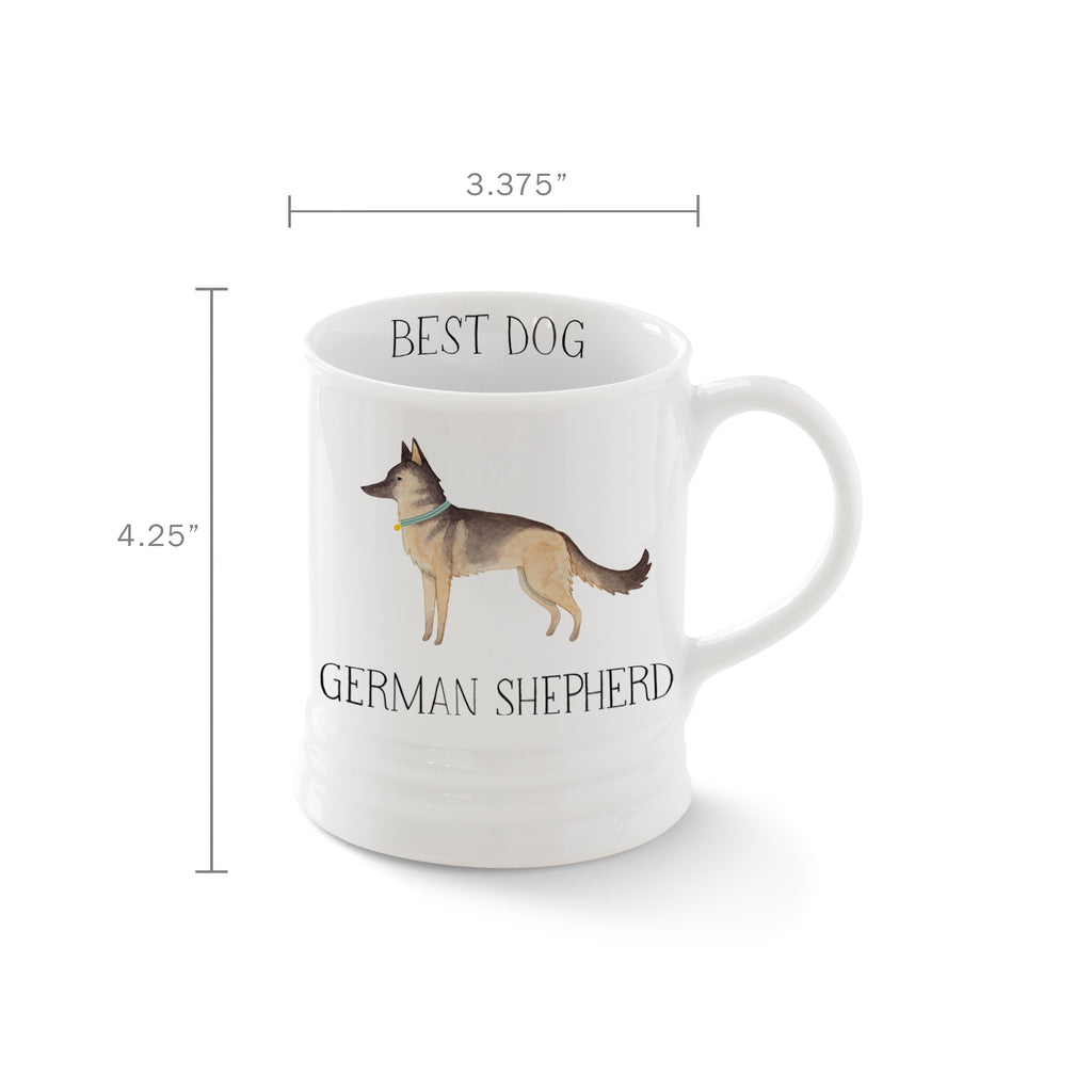 PETSHOP JULIANNA SWANEY GERMAN SHEPHERD MUG