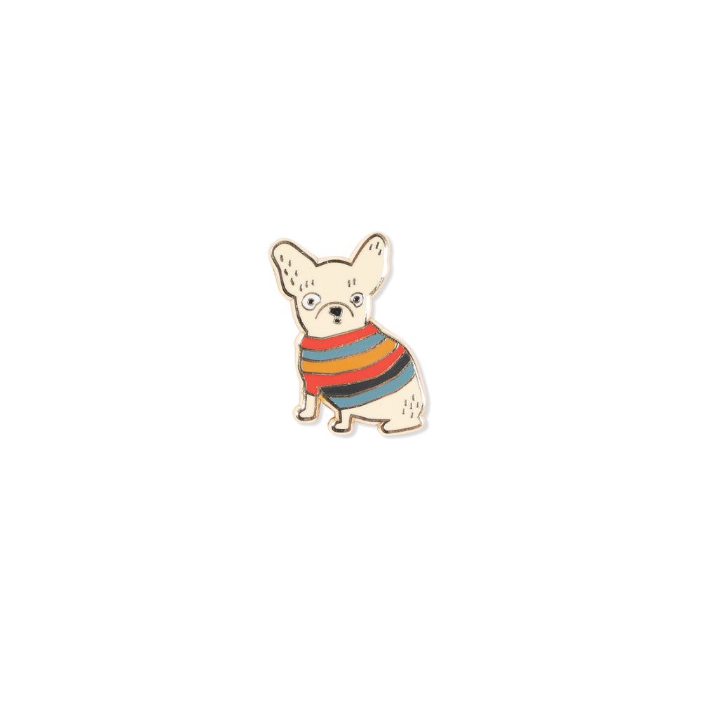 PETSHOP WEIRD FRENCHIE PIN