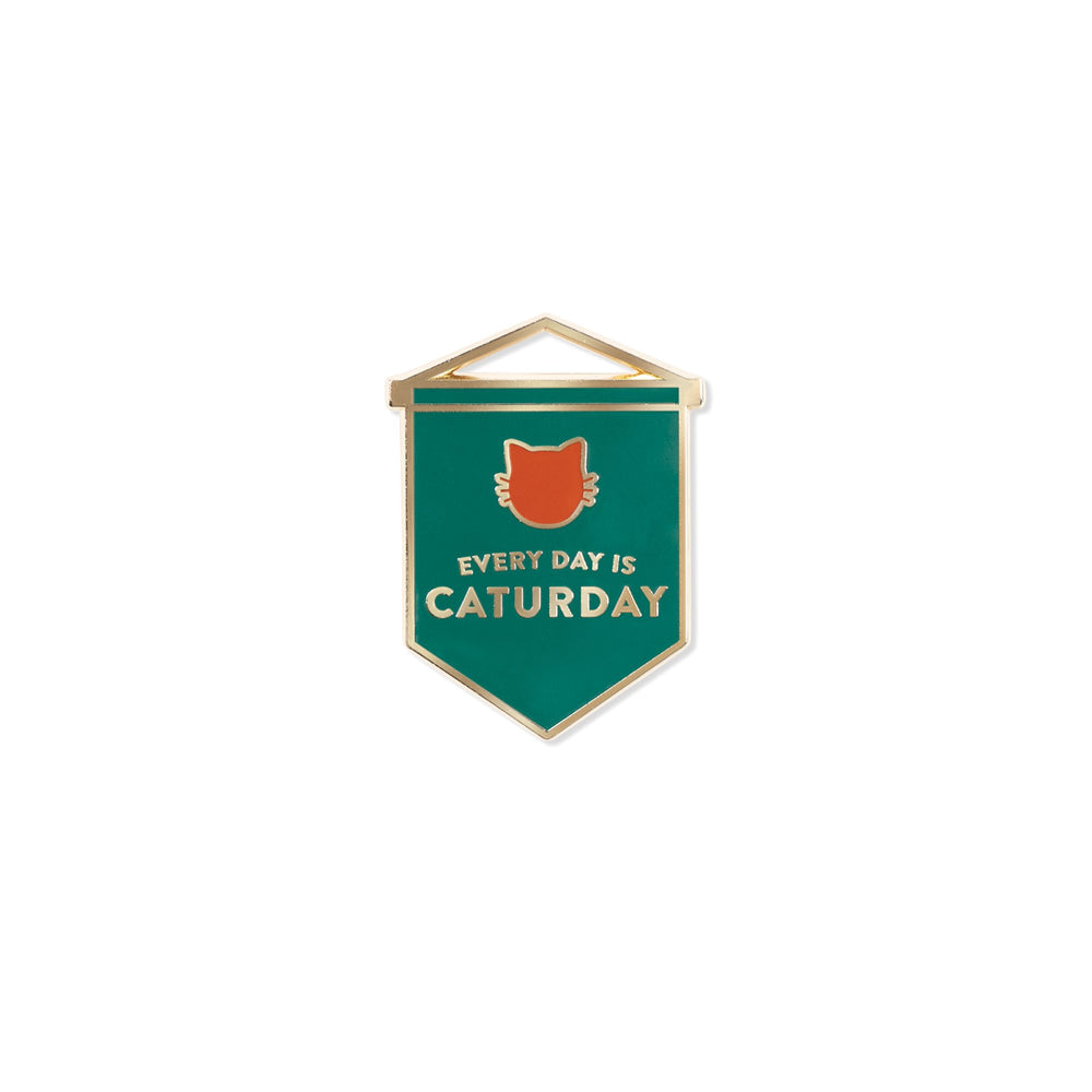 PetShop Caturday Enamel Pin
