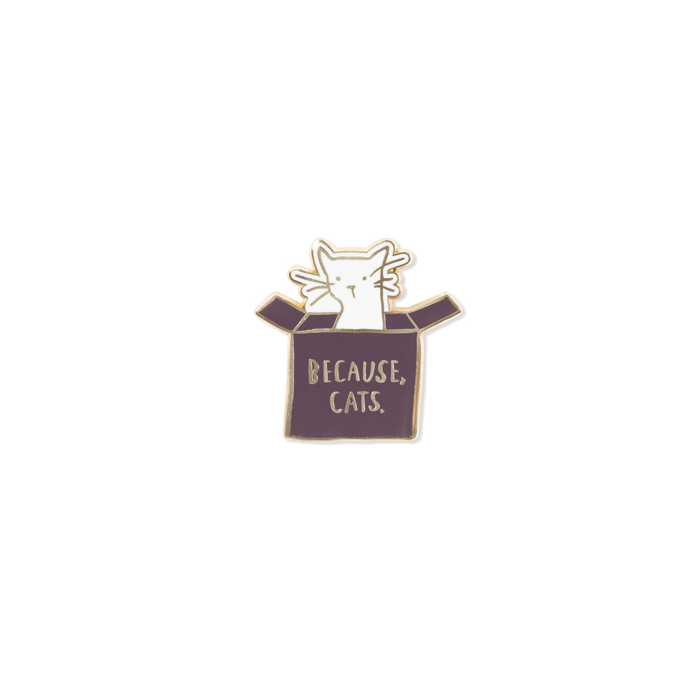 PetShop Because Cats Enamel Pin