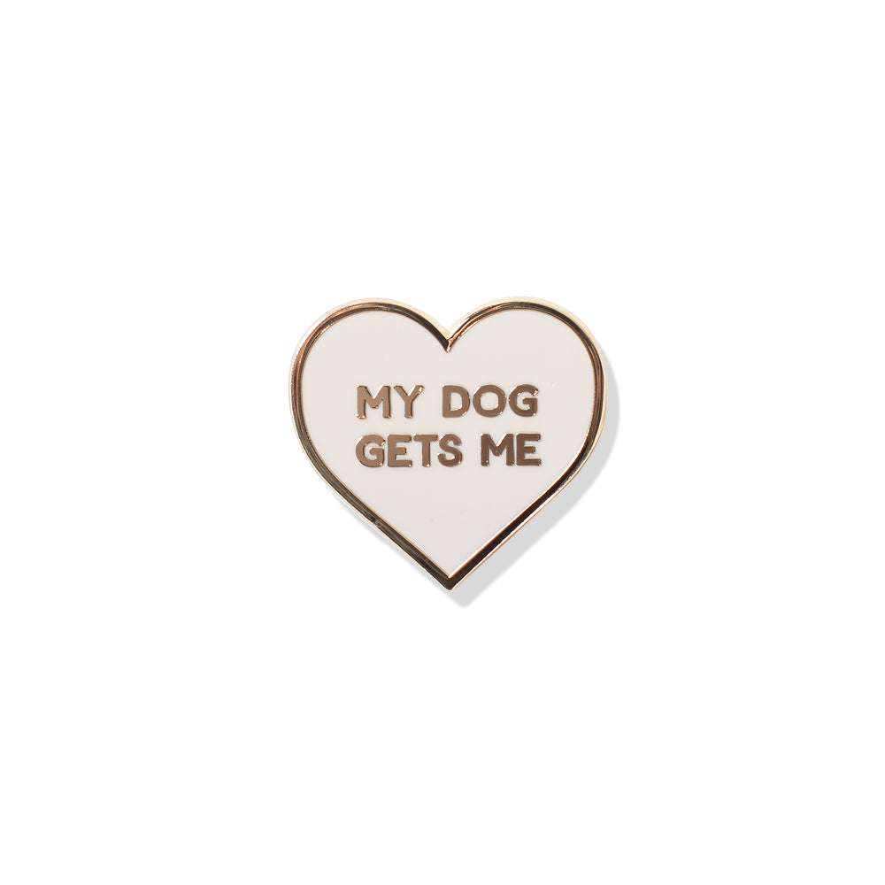 PETSHOP MY DOG GETS ME PIN