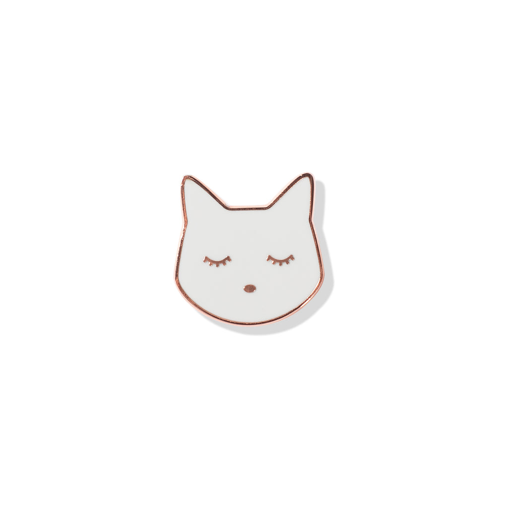 PETSHOP CAT HEAD PIN