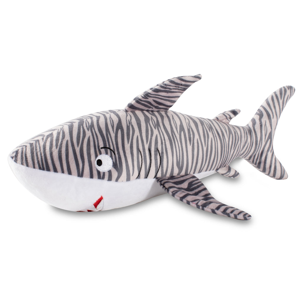 PETSHOP LARGE TIGER SHARK DOG TOY
