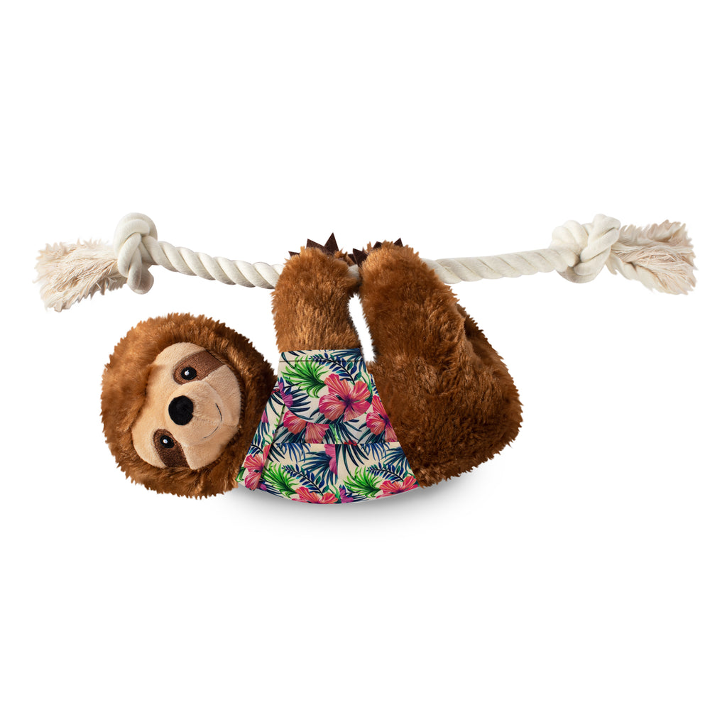 PETSHOP LARGE SUMMER SLOTH DOG TOY