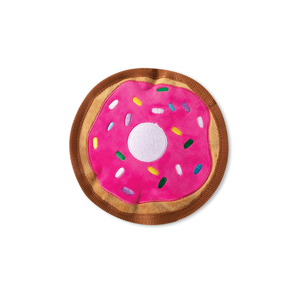 PETSHOP DONUT DURABLE DOG TOY
