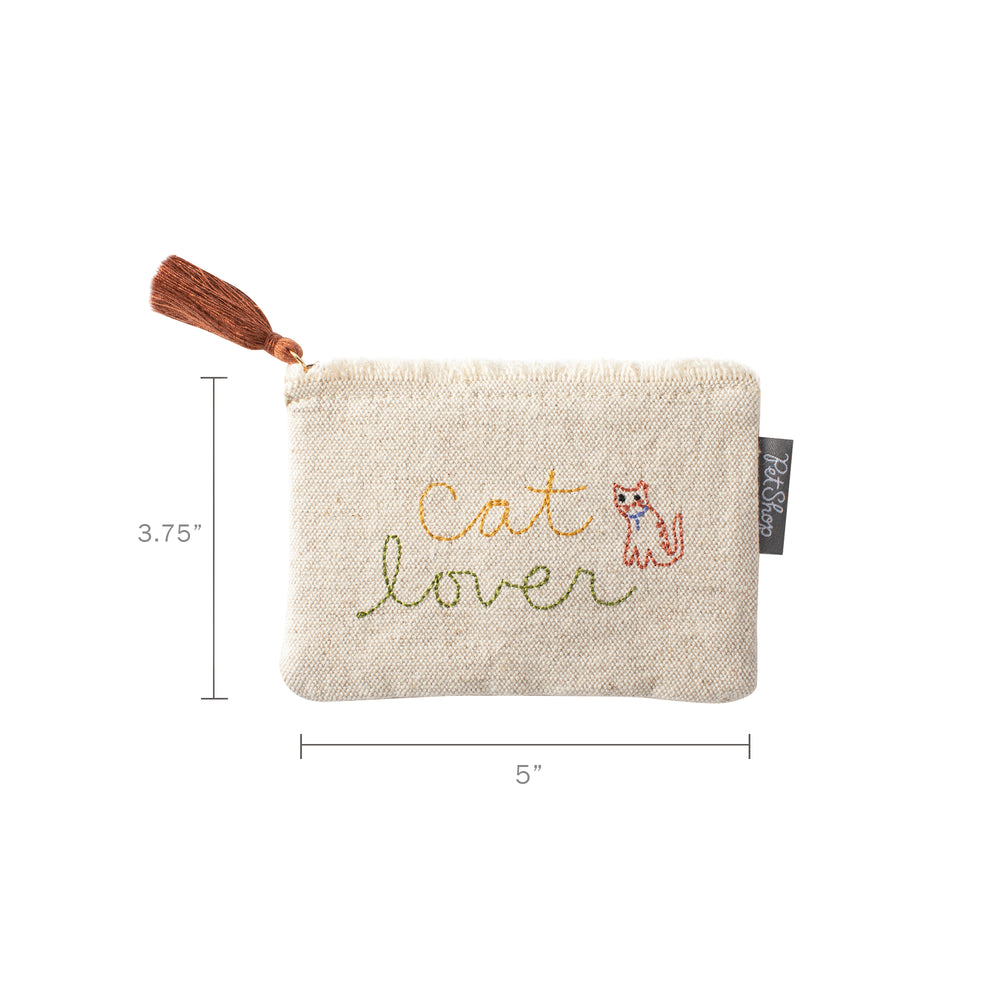Pet Shop Cat Lover Coin Pouch