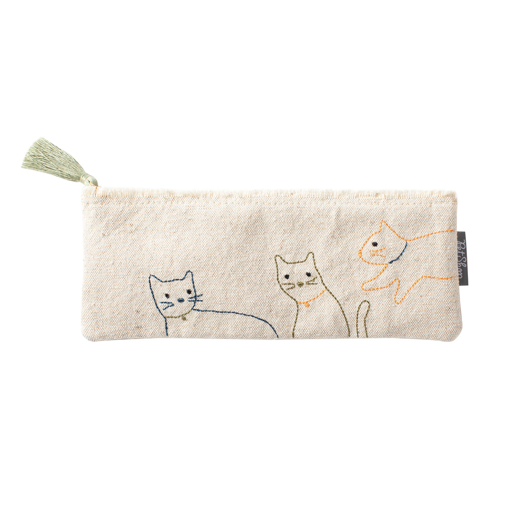 PETSHOP CATS CANVAS POUCH