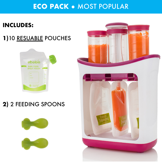 Purée TO GO™ Portable Baby Food Squeeze Station