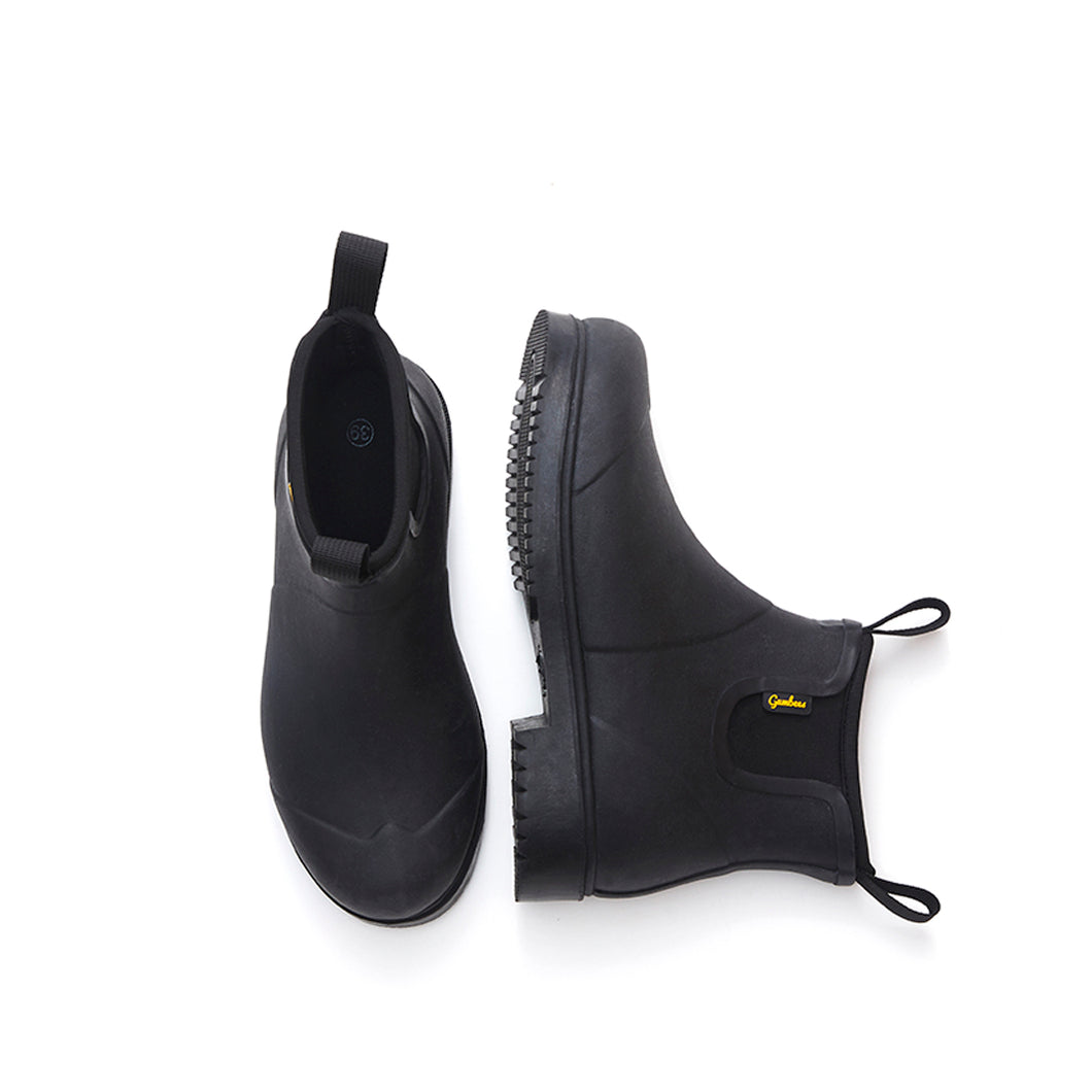 Pebble Black Rainboots