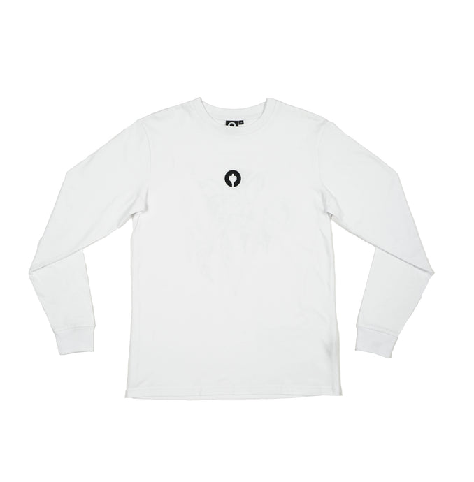 Staatslieden Essential Longsleeve White (select your size to check availability)
