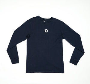 Staatslieden Essential Longsleeve Navy Blue (select your size to check availability)