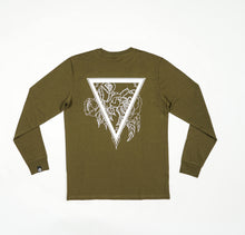 Load image into Gallery viewer, Staatslieden Essential Longsleeve Army Green (select your size to check availability)