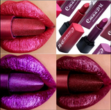 3 Pcs Set CmaaDu Sexy Metallic Lipstick