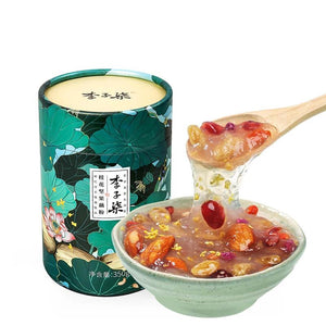 Open image in slideshow, Li Ziqi Lotus Root Powder Mixed With Osmanthus & Nuts & Wolfberry - Royal Tribute Food From Ancient China