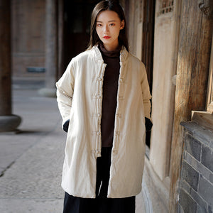 Li Ziqi Tang Suit Cotton-padded Jacket