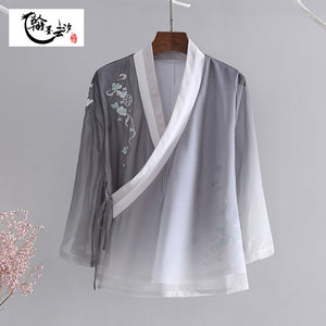 Open image in slideshow, Traditional Chinese Hanfu Blouse