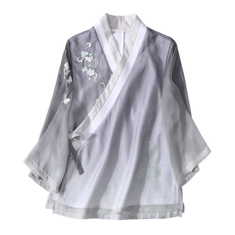 Traditional Chinese Hanfu Blouse