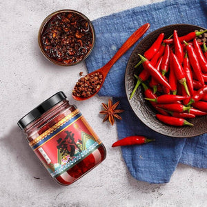Open image in slideshow, buy  Spiced Li Ziqi Suzao Chili Sauce - Royal Sauce Mild Spicy LiZiqi food product store channel recipes Online shop cooking