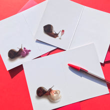 Load image into Gallery viewer, Snail Greeting Cards