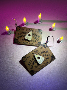 Ouija Board Earring (PAIR)