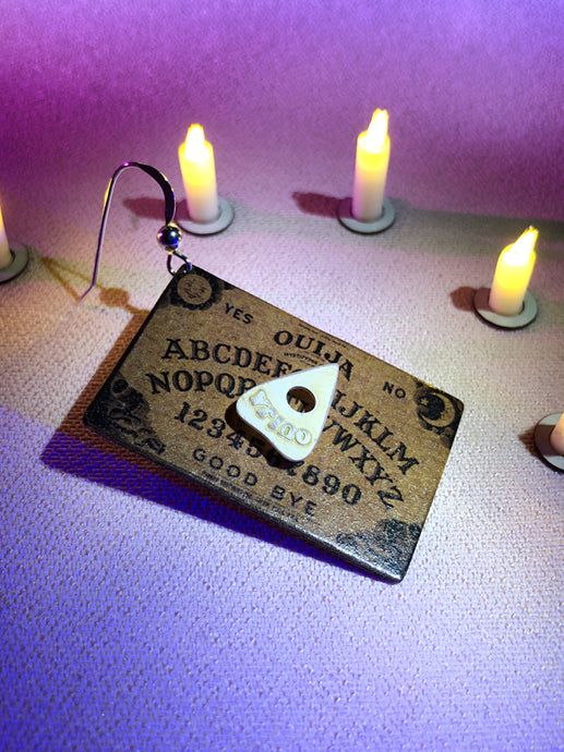Ouija Board Earring (SINGLE)