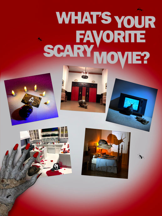 SCARY MOVIE PRINTS Vol. 1