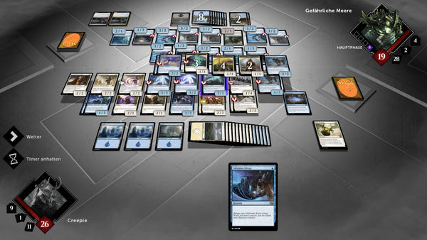 Das Spielfeld von Magic the Gathering