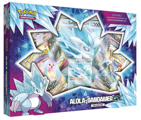 Alola Sandamer GX Box Pokemon