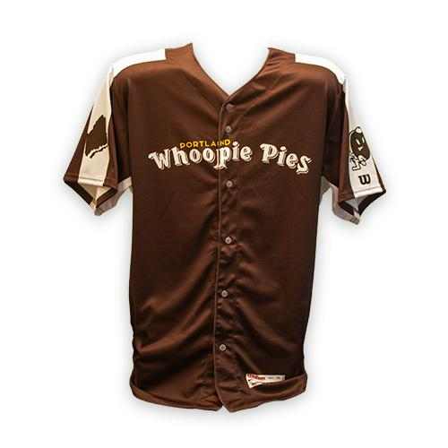 Portland Sea Dogs A Authentic On-Field Player Whoopie Pie Game Jersey