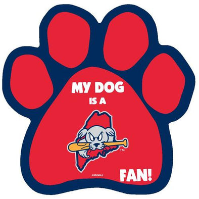 Portland Sea Dogs Dog Magnet