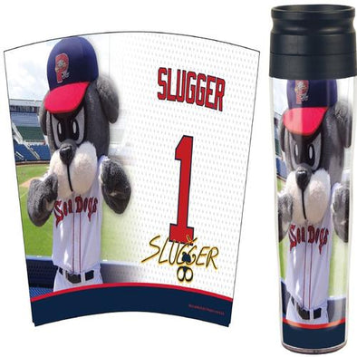 Portland Sea Dogs Travel Mug - Slugger Image