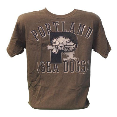 Portland Sea Dogs Vantage Faded Heather Short Sleeve T
