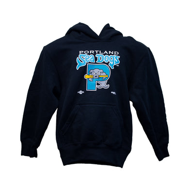 Retro Teal Youth Hoodie